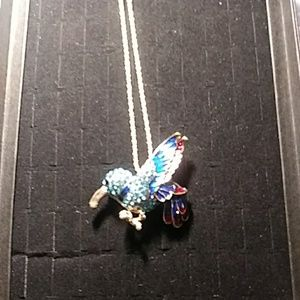 Jeweled Bird Necklace